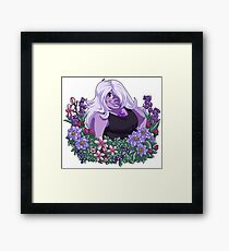 Flower Language - Amethyst Framed Print