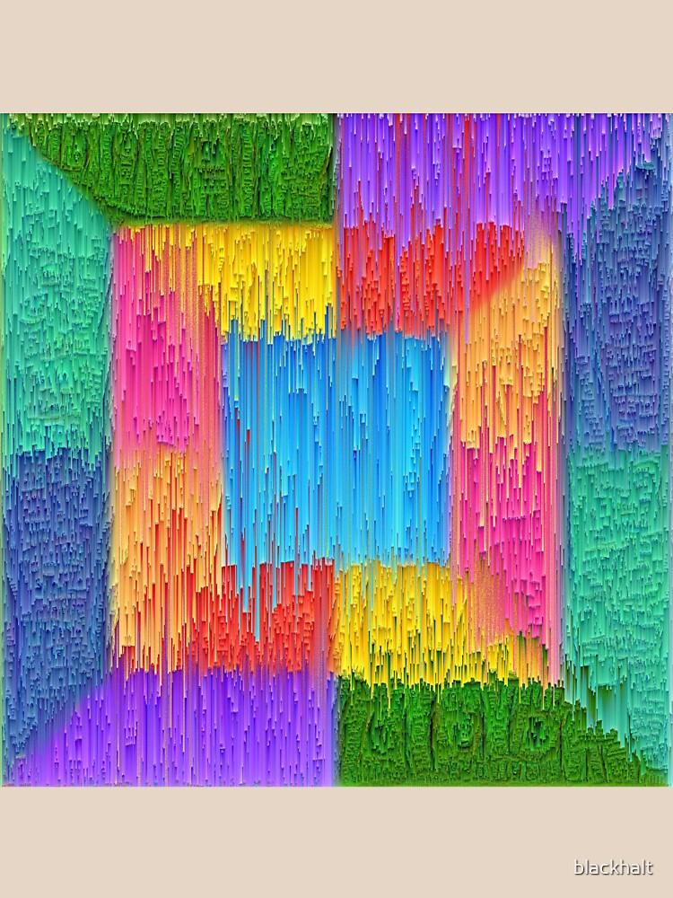 DeepDream Color Squares Visual Areas + pixel sort by blackhalt