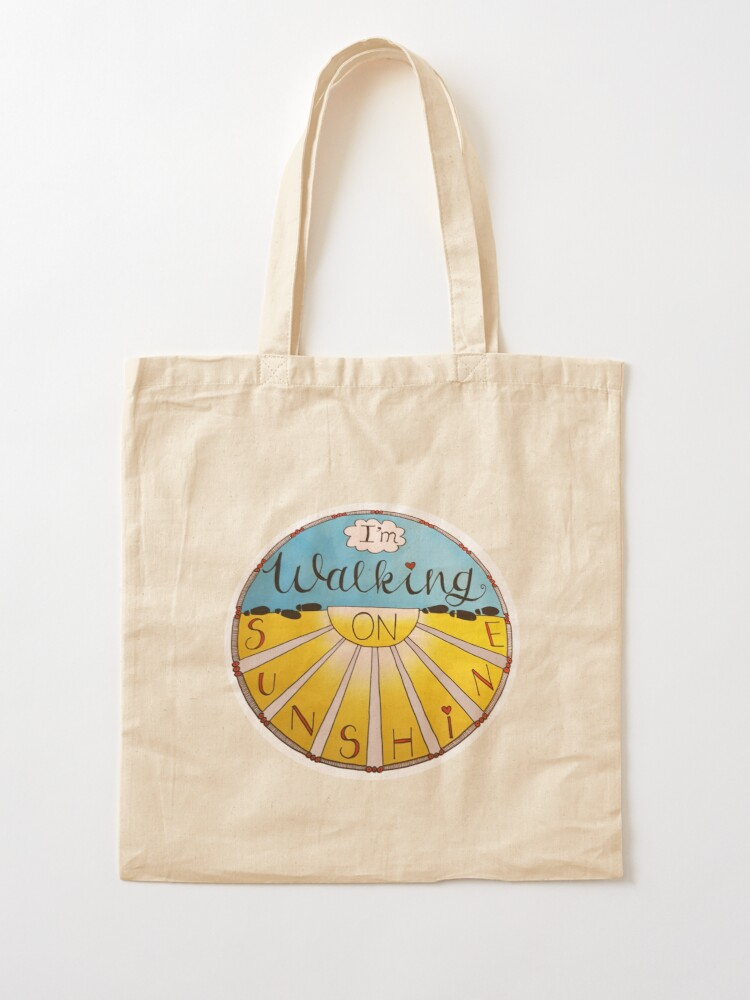 Alternate view of I'm Walking On Sunshine Tote Bag
