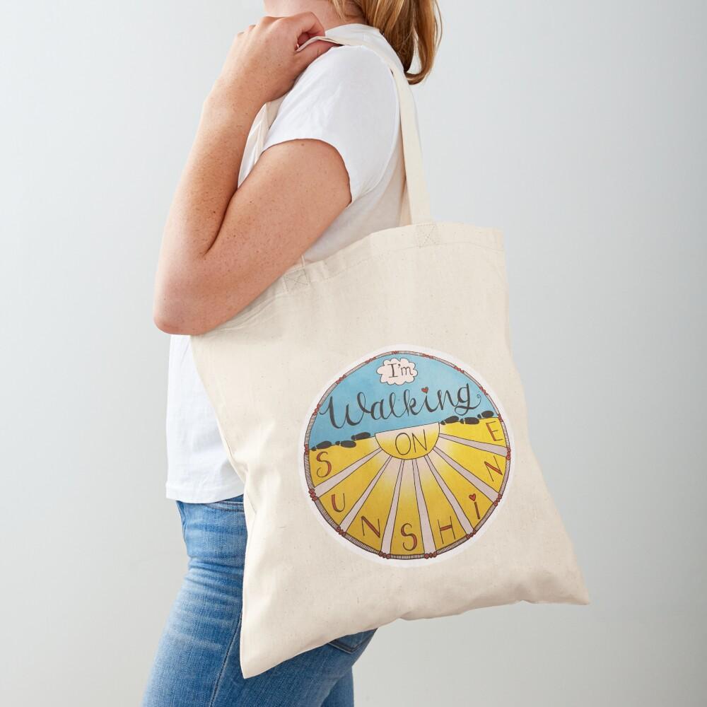I'm Walking On Sunshine Tote Bag