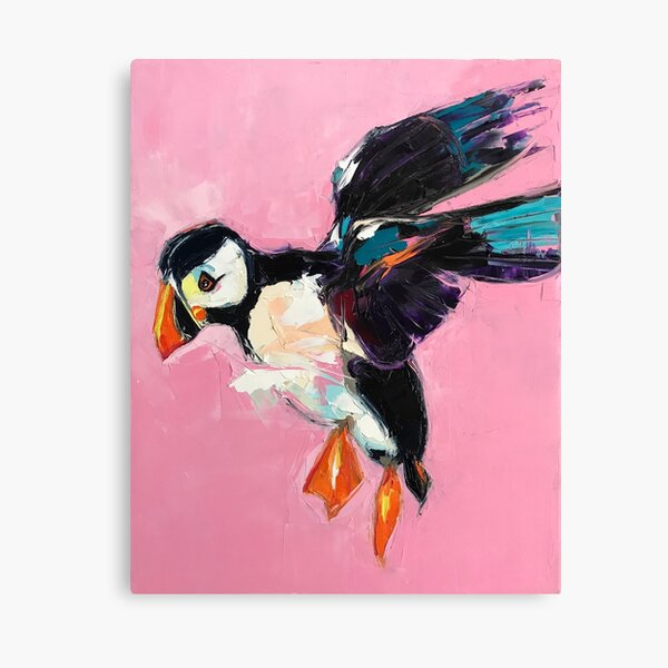 Days of the Puffling Canvas Print