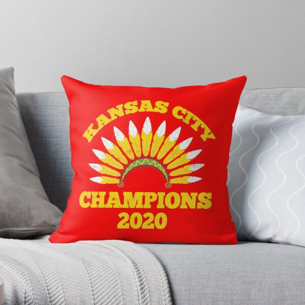 Kansas city champions 2020 Throw Pillow