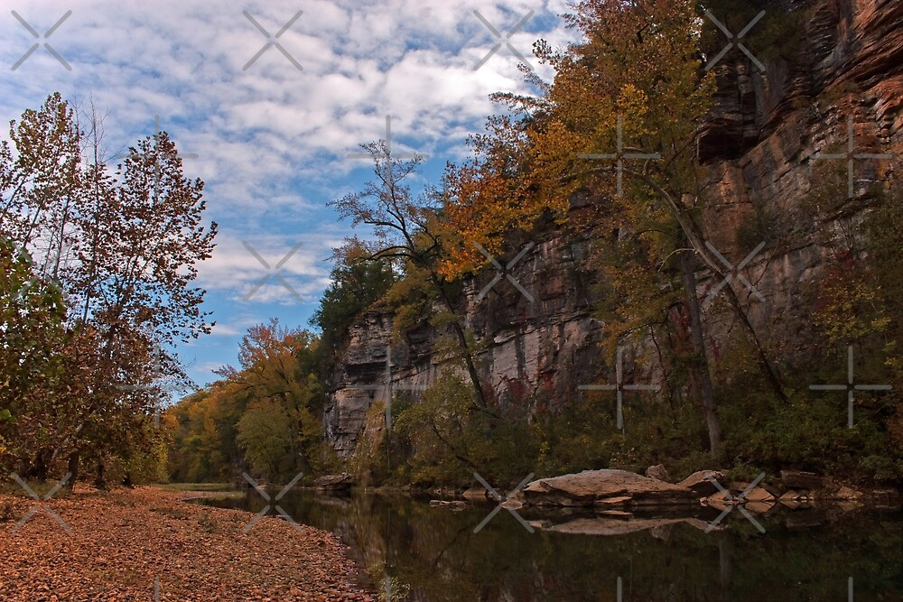 Buffalo River Reflections by Lisa Putman