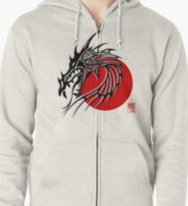 Year of The Dragon Zipped Hoodie