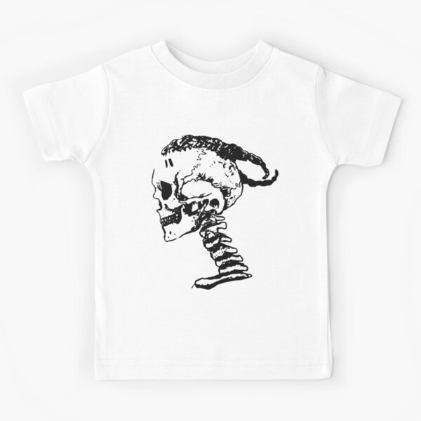 xxxtentacion Skull Logo T-shirt enfant