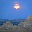 Badlands Moon by dandefensor