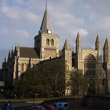 Rochester Cathedral by RodrossarioMP
