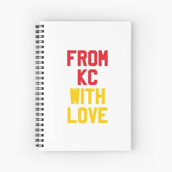 From Kansas City with Love Spiral Notebook