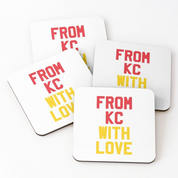 From Kansas City with Love Coasters (Set of 4)