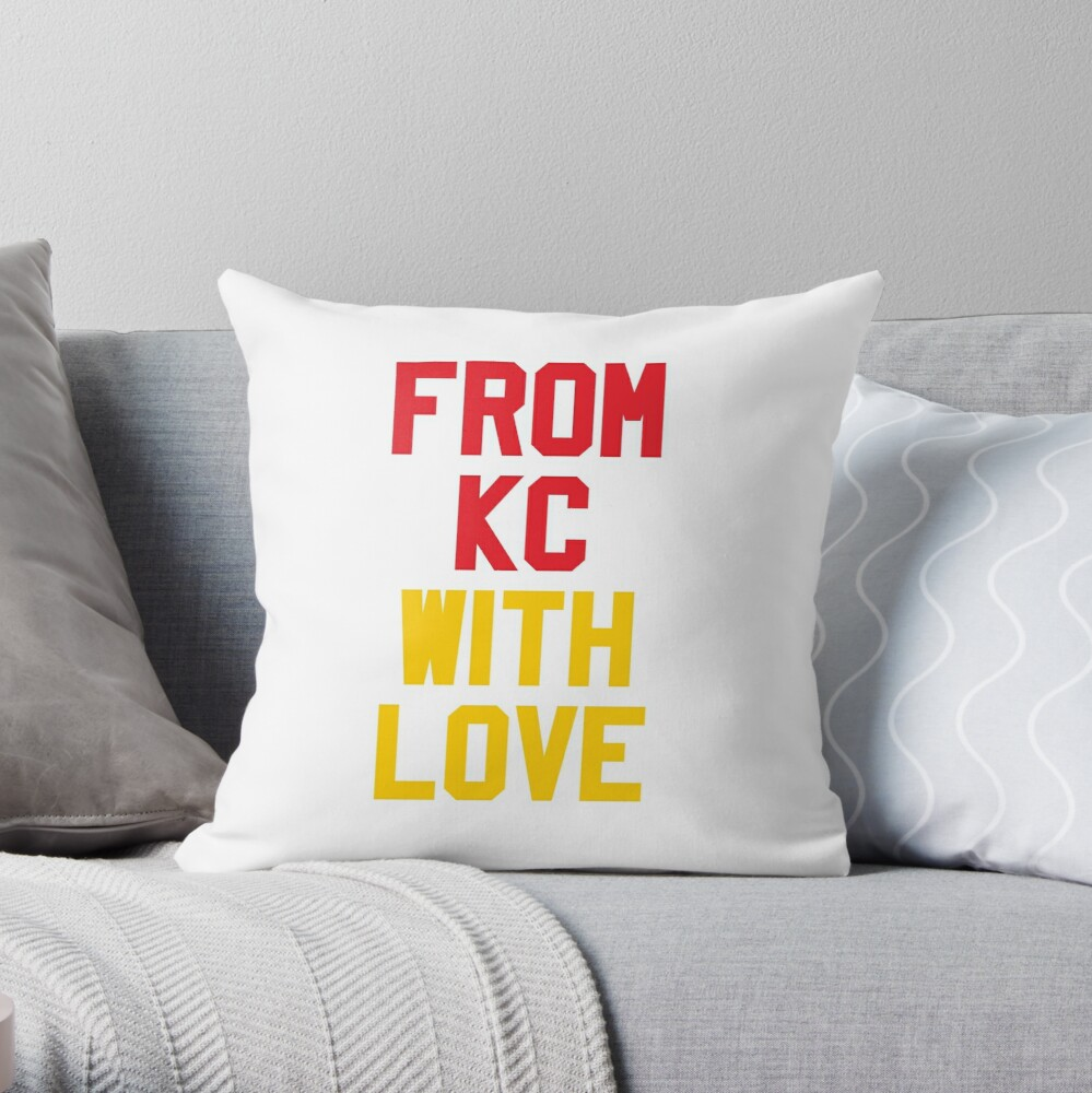 From Kansas City with Love Throw Pillow