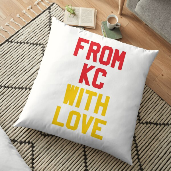 From Kansas City with Love Floor Pillow