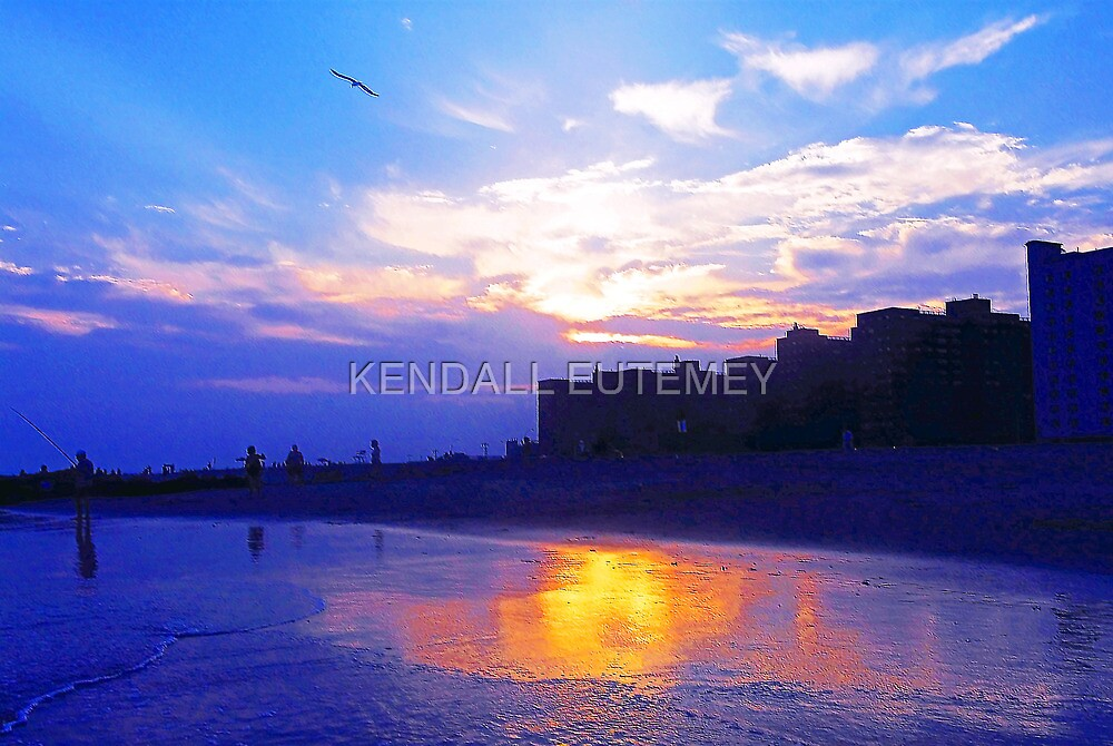 LONELY SUNSET by KENDALL EUTEMEY