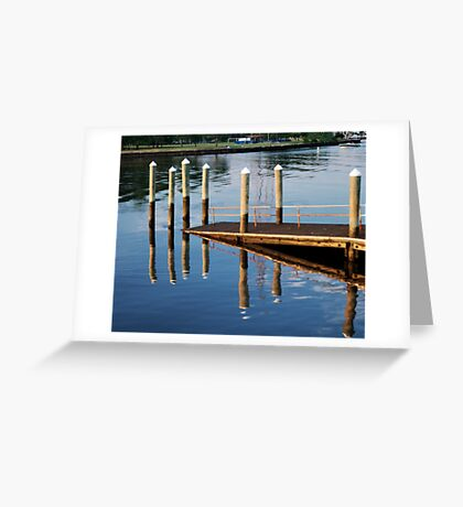 Pier-iod Illusion Greeting Card