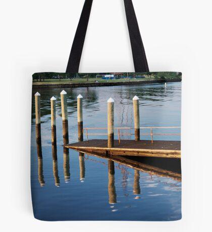 Pier-iod Illusion Tote Bag