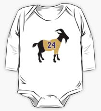 Kobe GOAT Long Sleeve Baby One-Piece