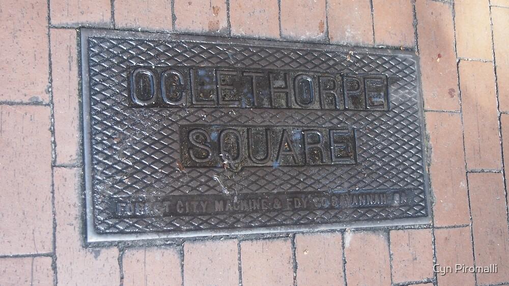 Ogelthorpe Square by Cyn Piromalli
