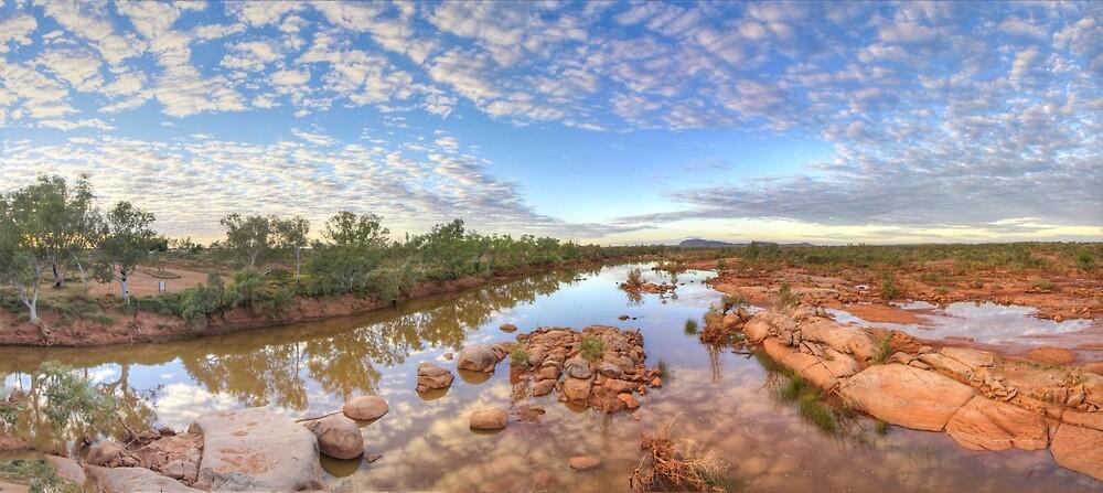 Ashburton river, Pilbara region , Western Australia by Marc Russo