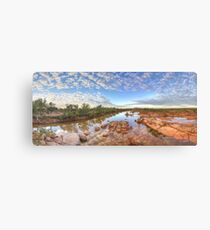 Ashburton river, Pilbara region , Western Australia Canvas Print