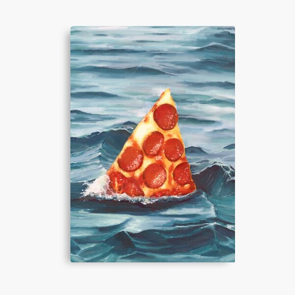 The Great Bite Shark Canvas Print