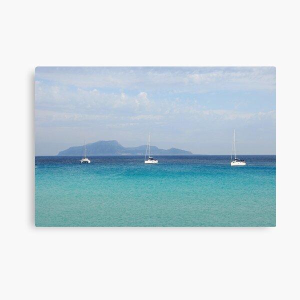 Cala Rossa Canvas Print