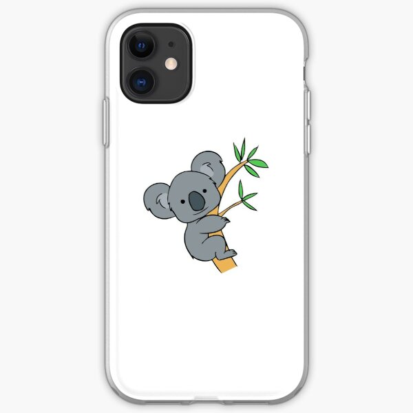 Cute Koala iPhone Soft Case