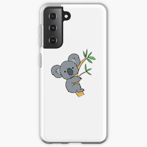 Lindo koala Funda blanda para Samsung Galaxy