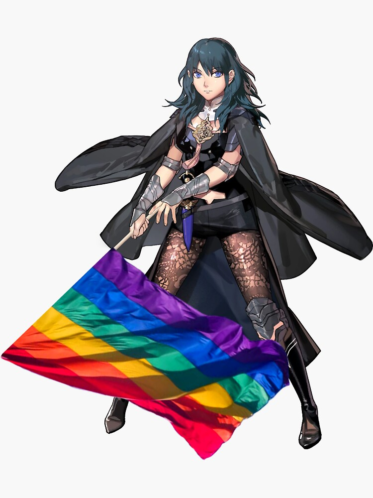 Gay Pride Female Byleth by sherrywithawhy