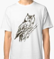 Owl hand drawn Classic T-Shirt