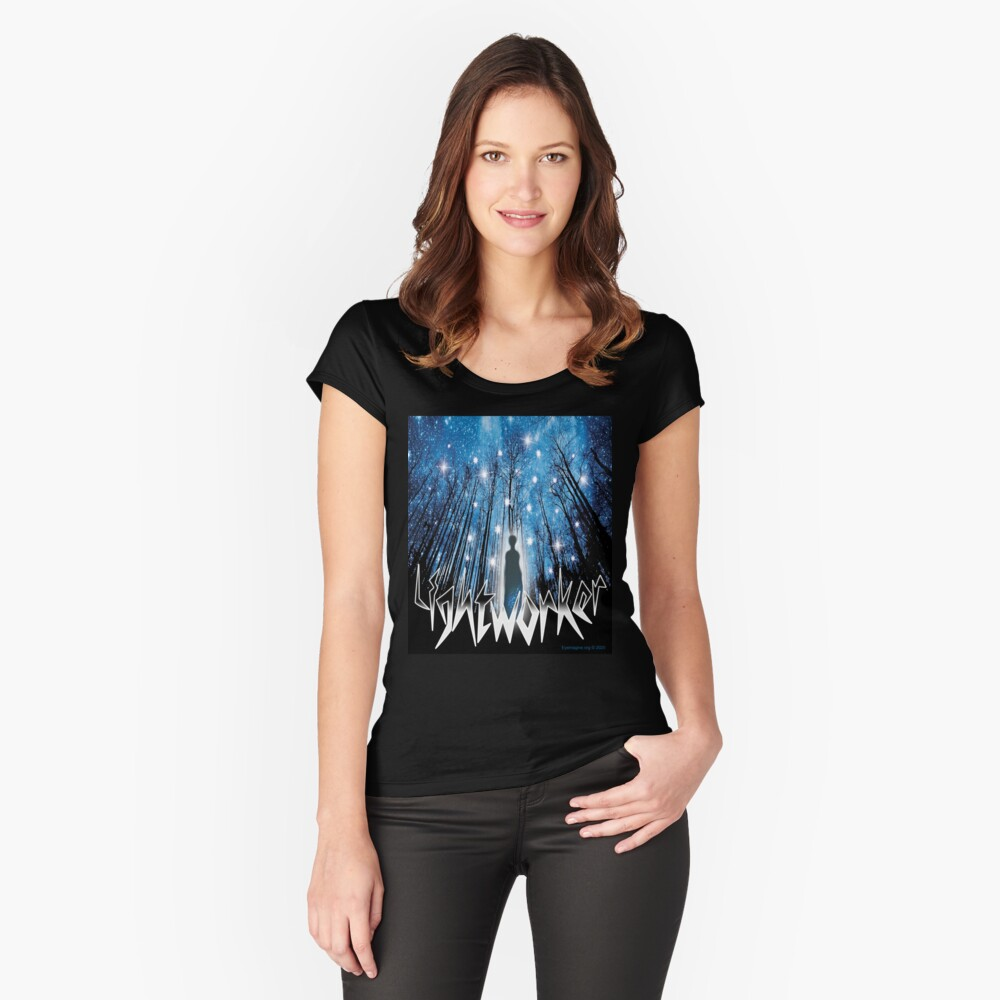 Lightworker Fitted Scoop T-Shirt