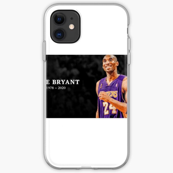 R I P Kobe Bryant Iphone Case Cover By Cwaden09 Redbubble