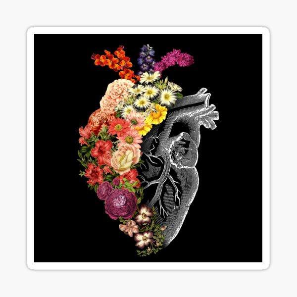 Flower Heart Spring Sticker
