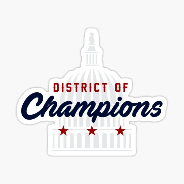 District of Champions Sticker