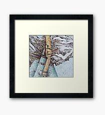 Earth Furnace Framed Print