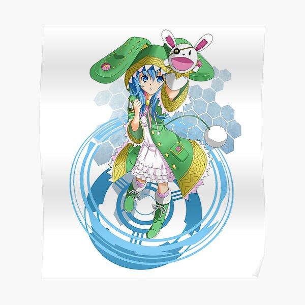 Yoshino Date-a-Live Anime T-shirt Poster
