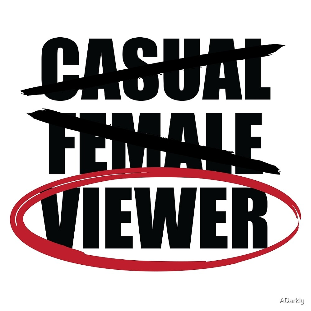 """""""Casual Female Viewer""""  by ADarkly"""