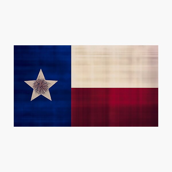 Texas Pride Photographic Print