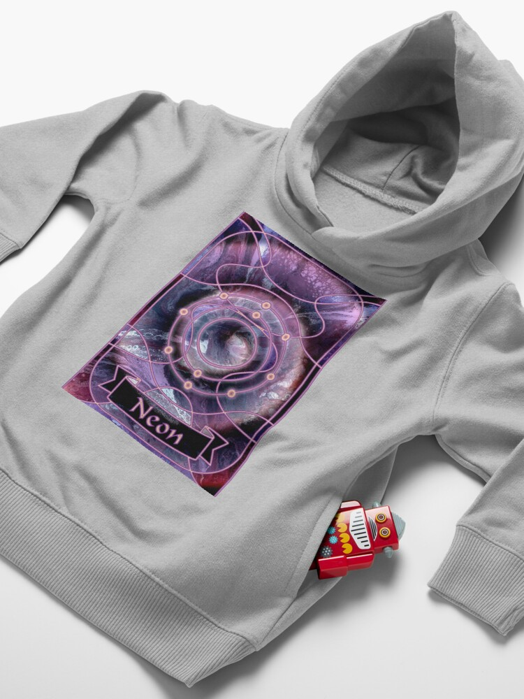 Alternate view of Element 10: Neon Toddler Pullover Hoodie