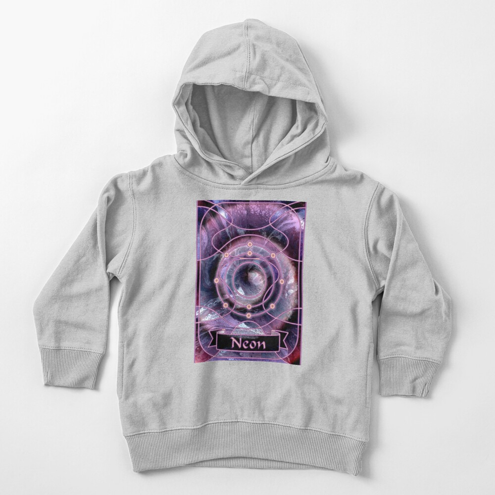 Element 10: Neon Toddler Pullover Hoodie