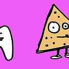 Tooth vs Dorito by Ollie Brock