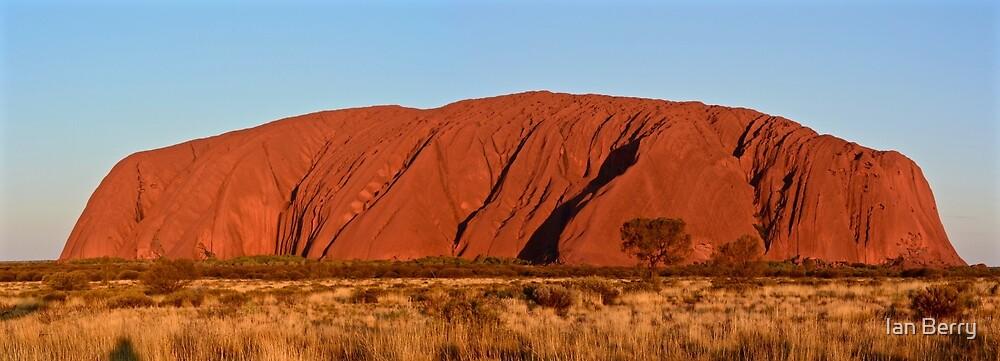 Uluru at sunset by Ian Berry