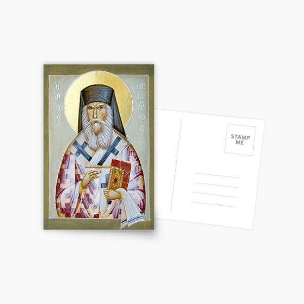St Nektarios of Aigina Postcard