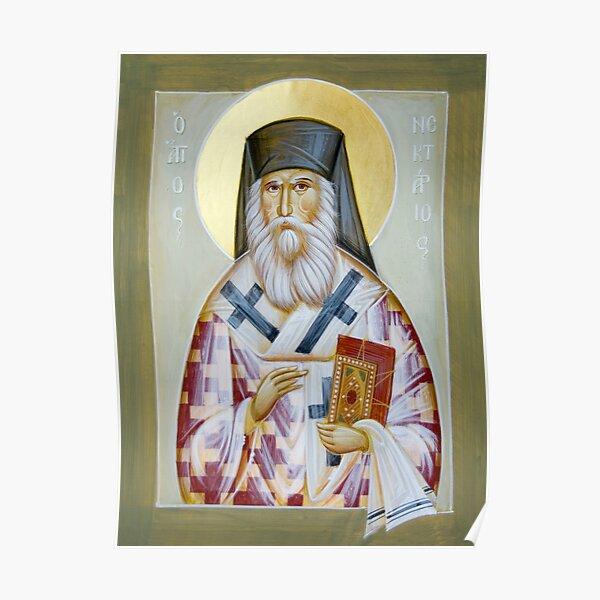 St Nektarios of Aigina Poster
