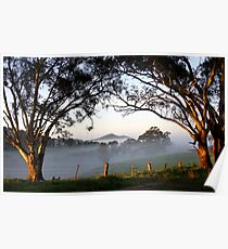 ~ A Morning Mist ~ Poster
