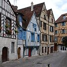 A street in Auxerre by Adri  Padmos
