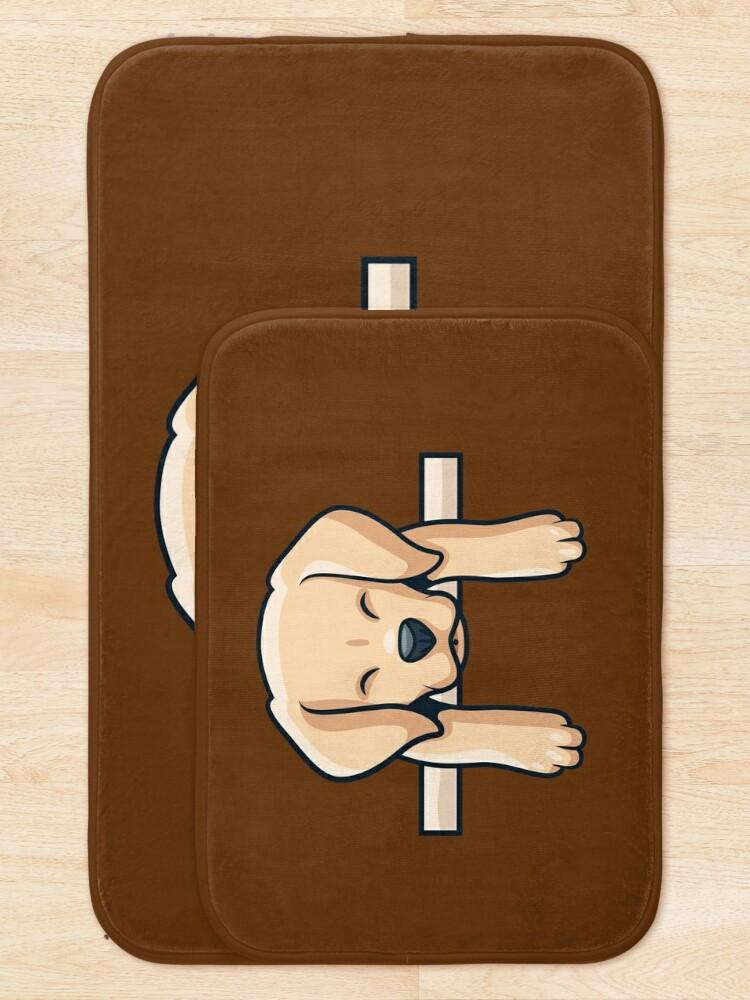 Alternate view of Labrador Retriever Dog Bath Mat