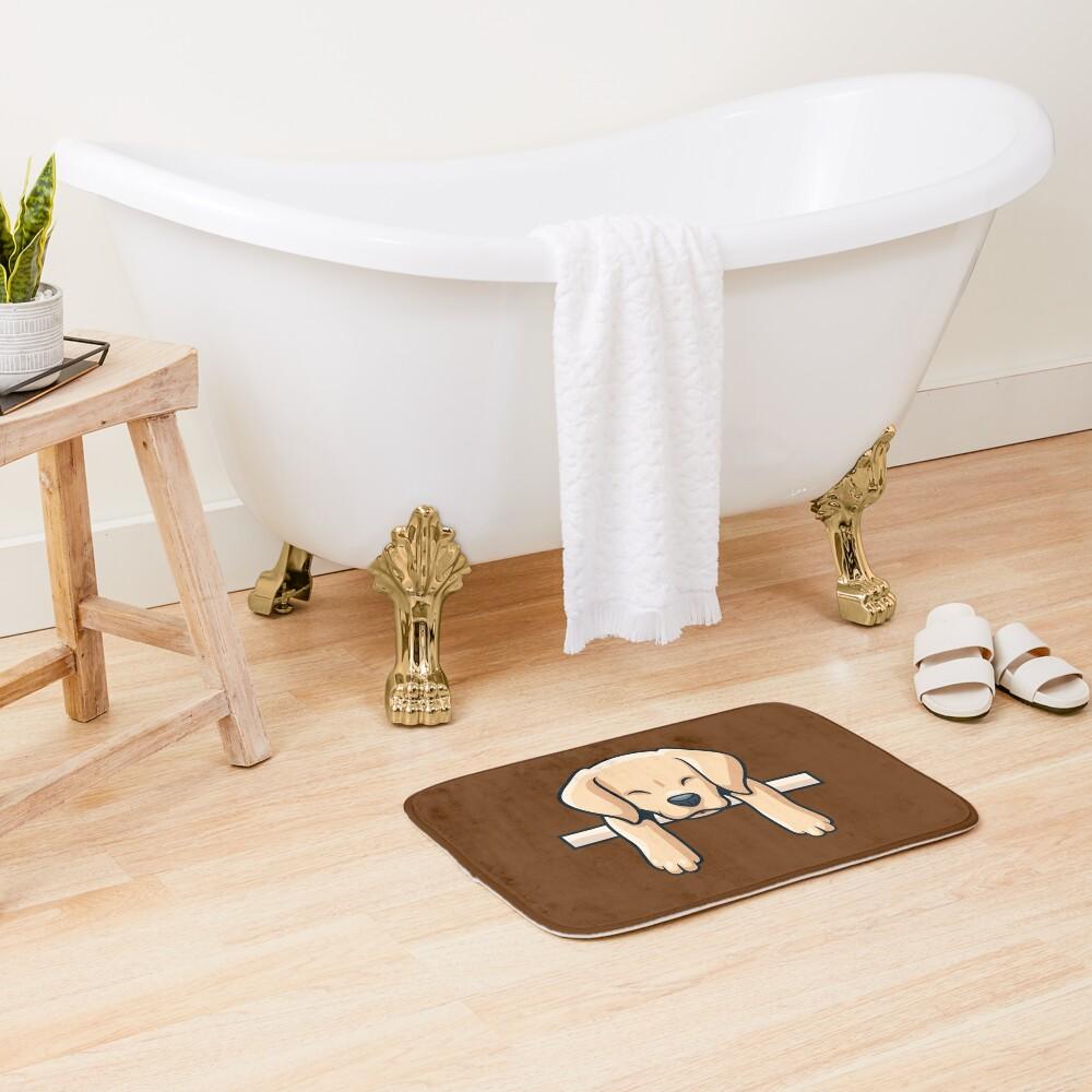 Labrador Retriever Dog Bath Mat