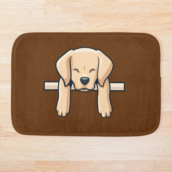 Labrador Retriever Dog Bath Mat