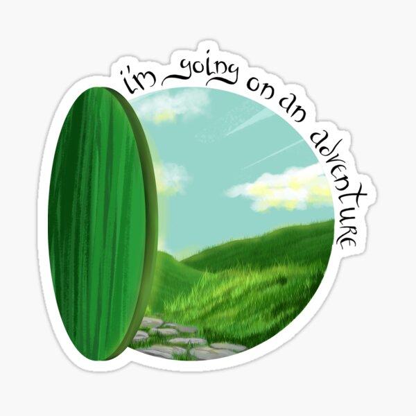 On an Adventure Sticker