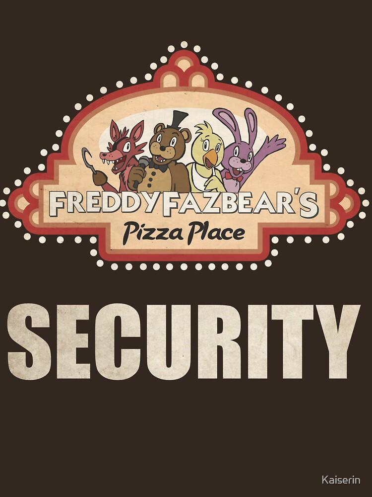 Five Nights at Freddy's - FNAF - Freddy Fazbear's Security Logo | Unisex T-Shirt