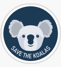 Save the Koalas! Sticker